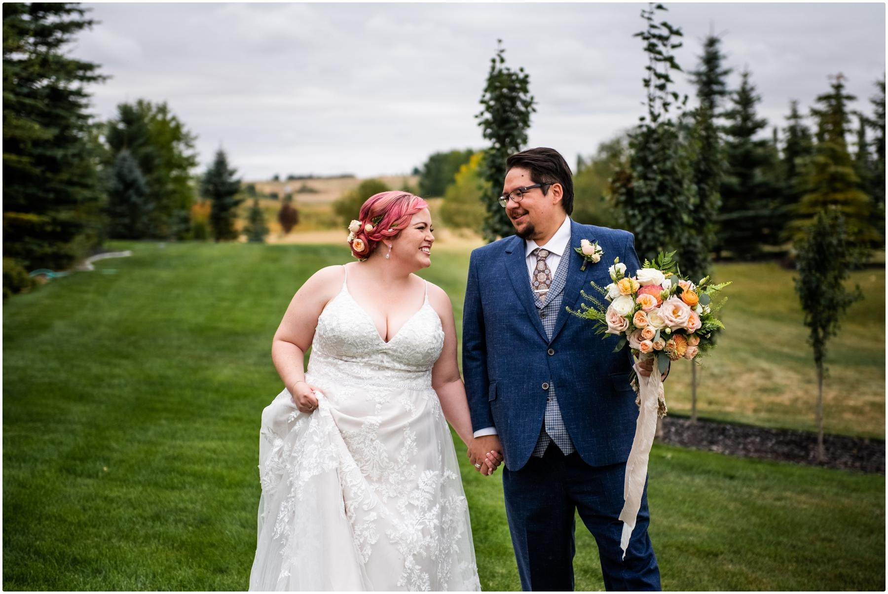 Garden Party Wedding Photographer Calgary