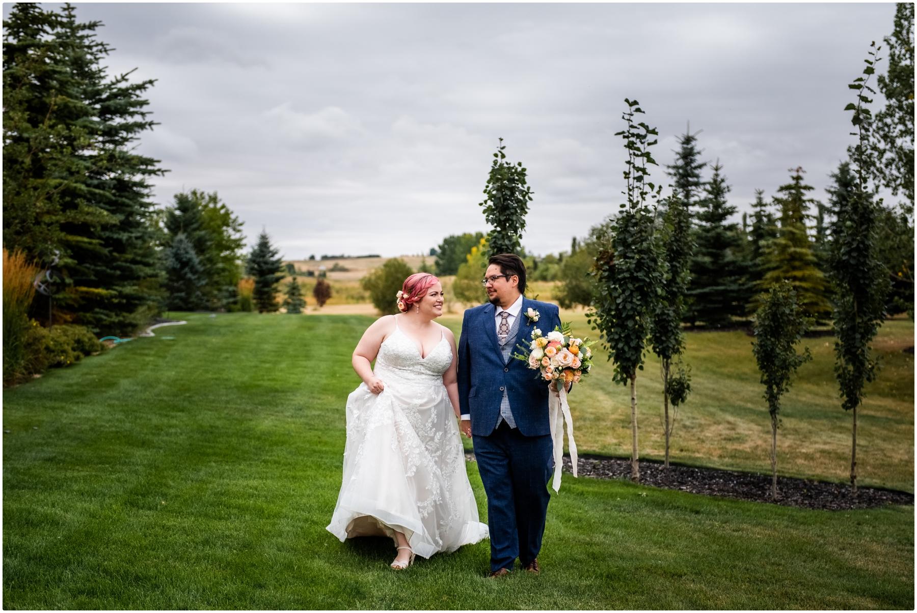Garden Party Wedding Photography Calgary