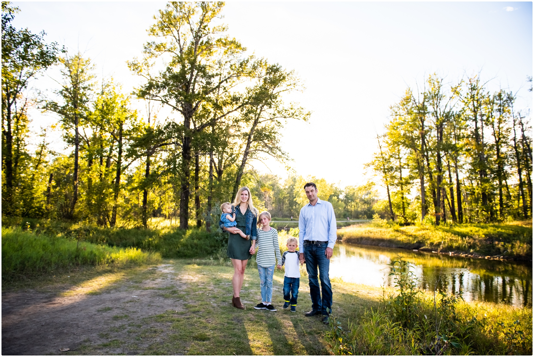 Sunset Carburn Park Family Session
