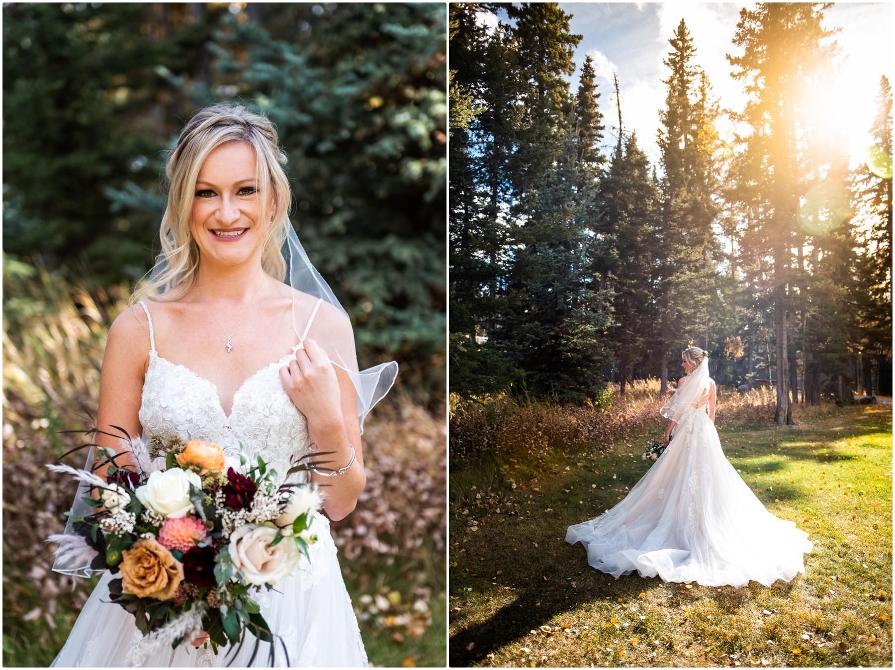 Autumn Azuridge Estate Hotel Bridal Portraits - Azuridge Estate Hotel Wedding