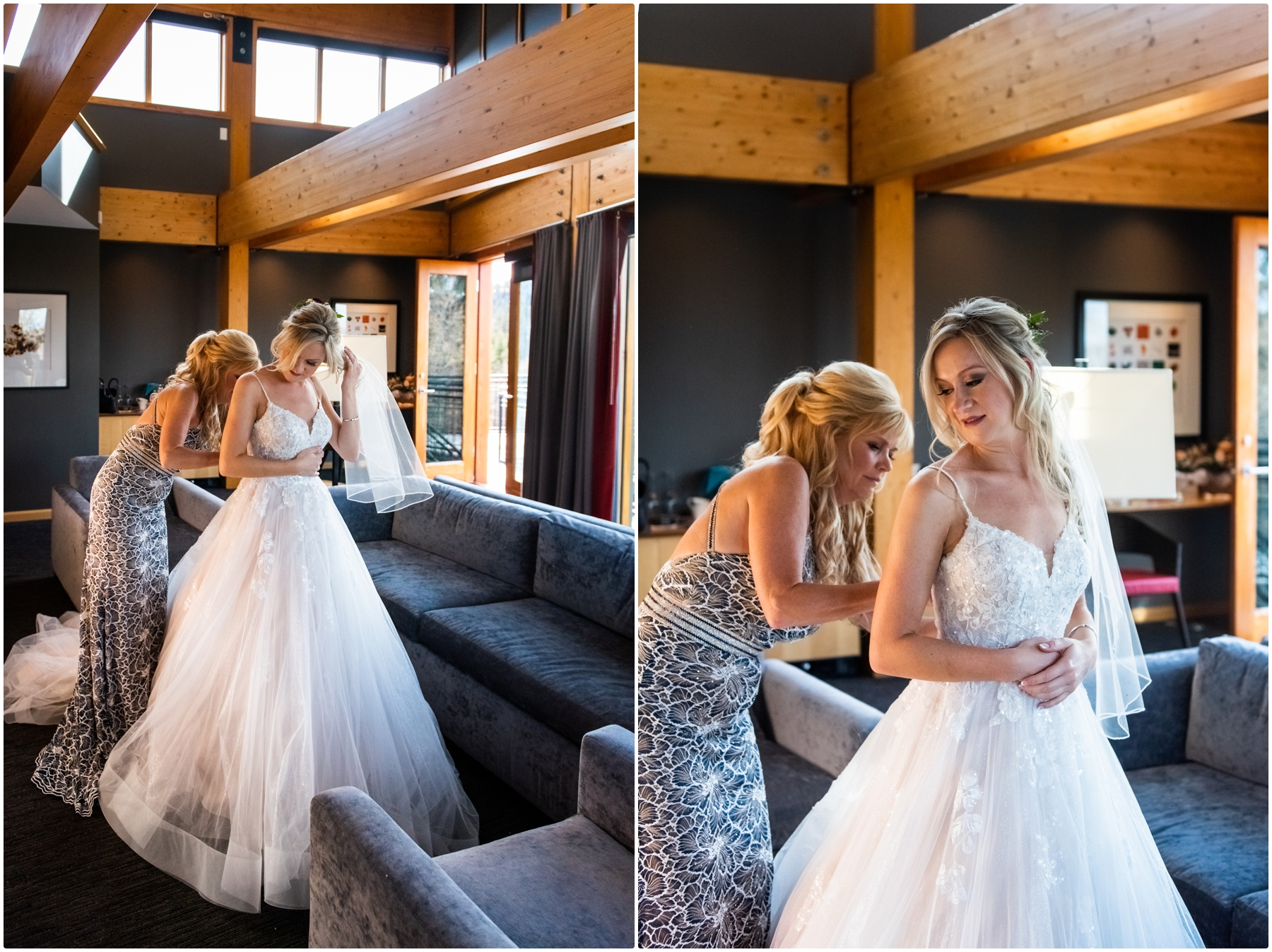 Autumn Azuridge Estate Hotel Bridal Prep Photography