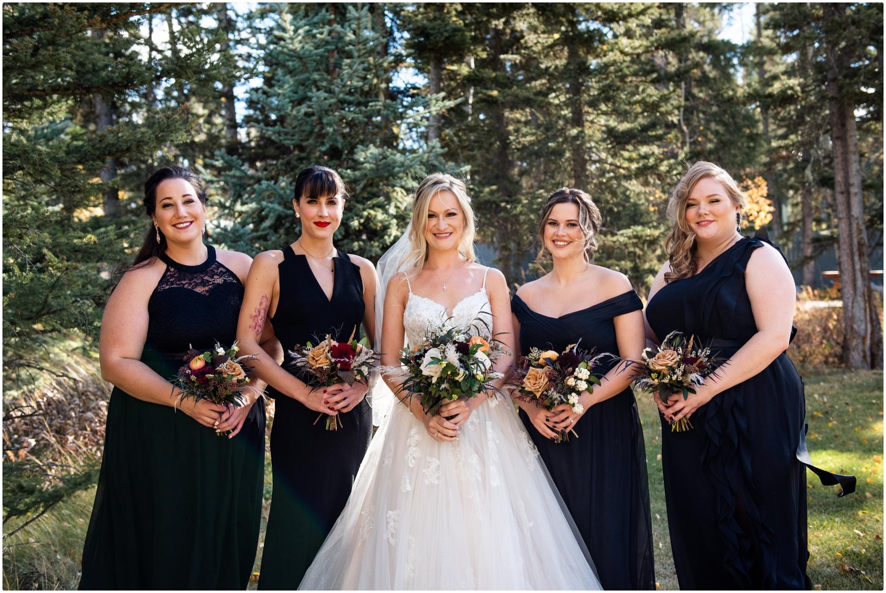 Autumn Azuridge Estate Hotel Bridesmaid Photos