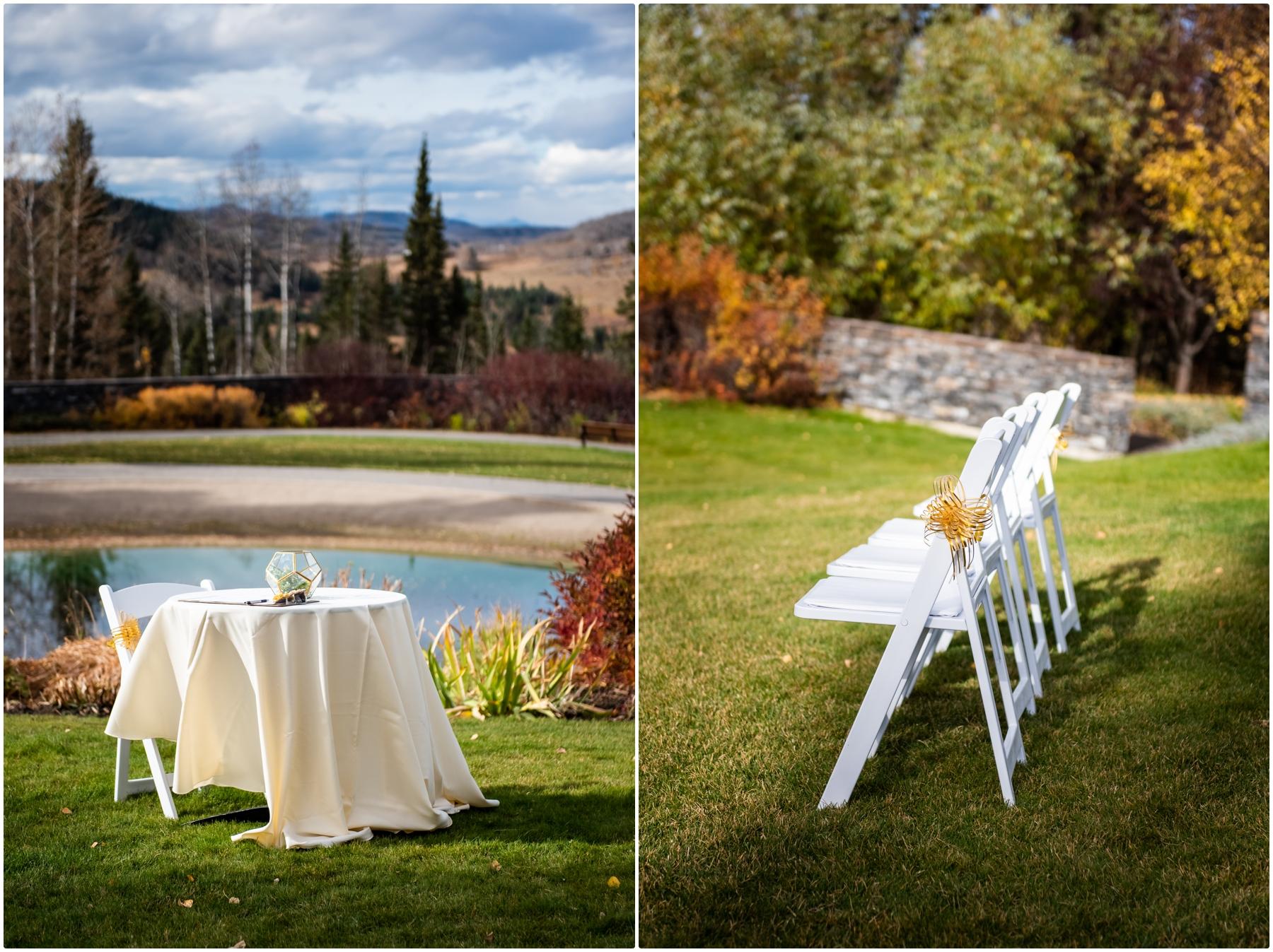 Autumn Azuridge Estate Hotel Wedding Ceremony Photography - Azuridge Estate Hotel Wedding