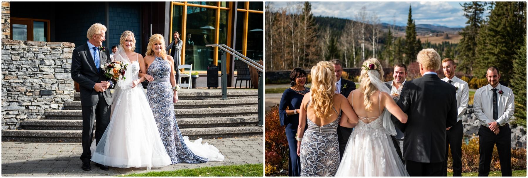 Autumn Azuridge Estate Hotel Wedding Outdoor Ceremony Photographer - Azuridge Estate Hotel Wedding