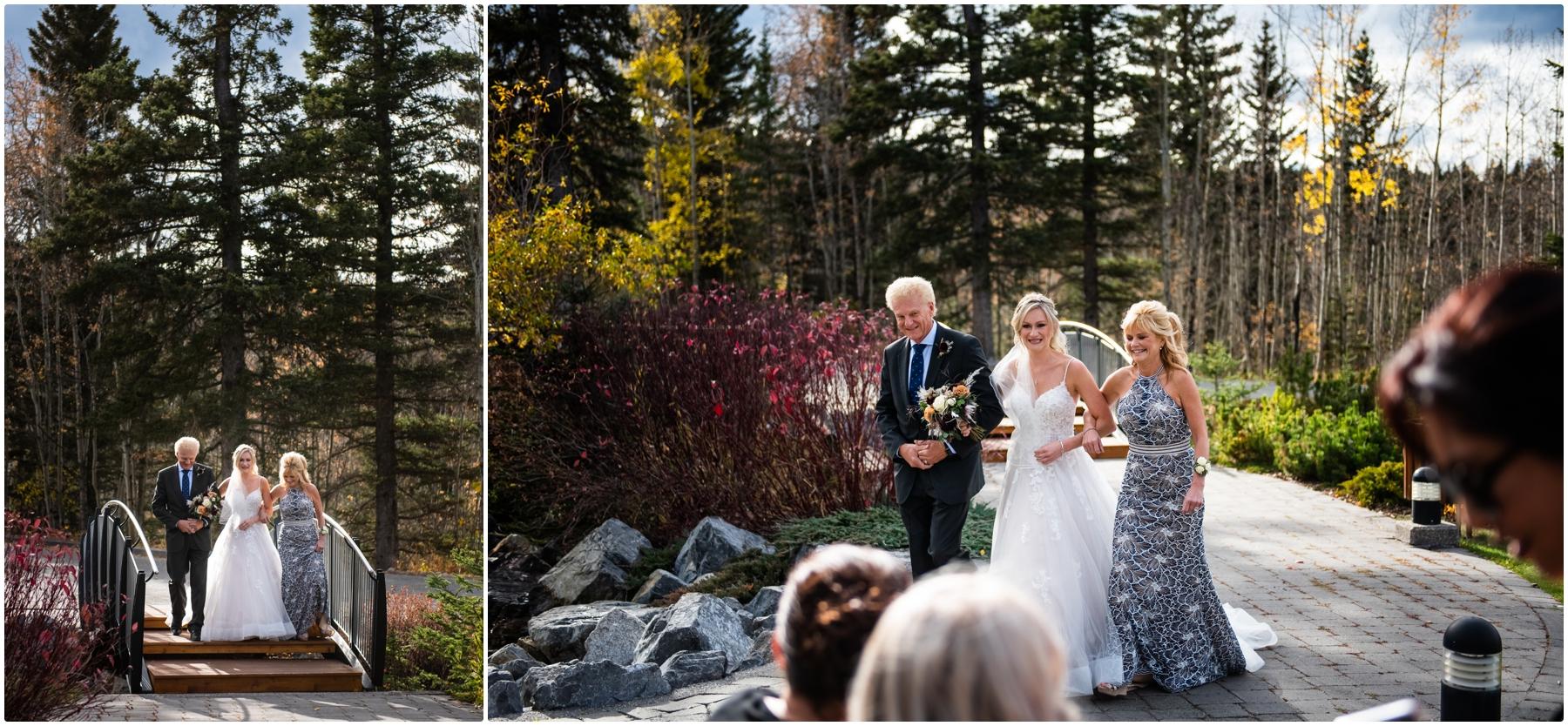 Autumn Azuridge Estate Hotel Wedding Outdoor Ceremony Photos - Azuridge Estate Hotel Wedding