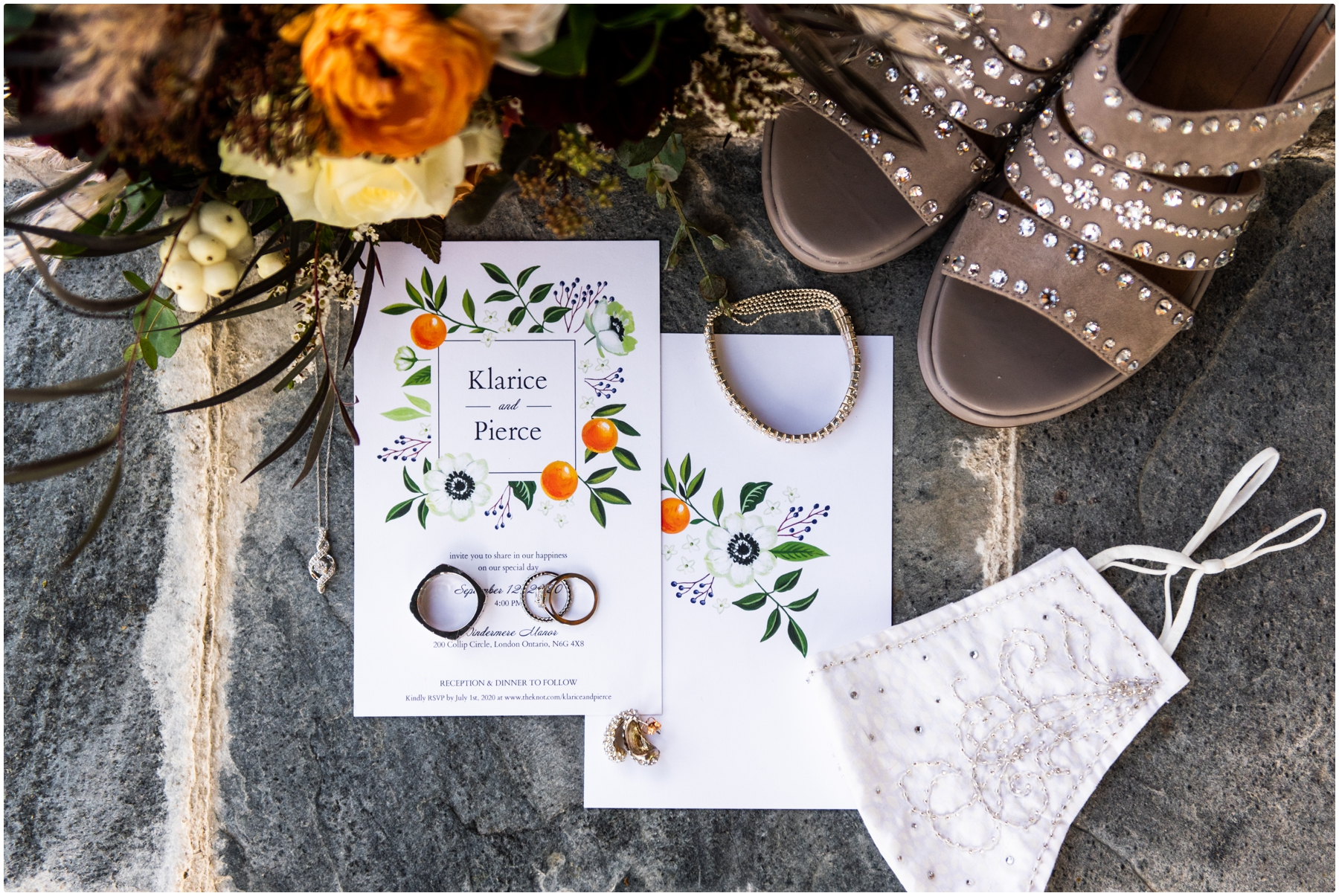 Autumn Azuridge Estate Hotel Wedding Photos