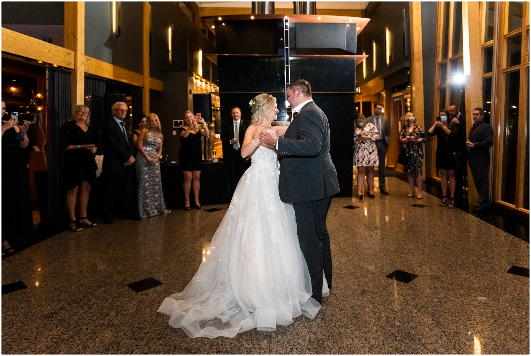 Azuridge Estate Hotel Wedding Reception Photo- Calgary Wedding Photographer