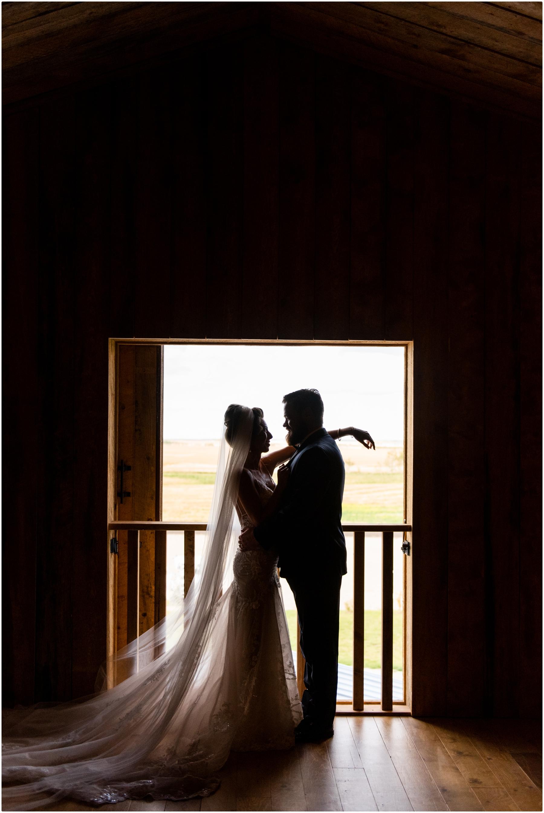 Barn Bride & Groom Photo - Sweet Haven Barn