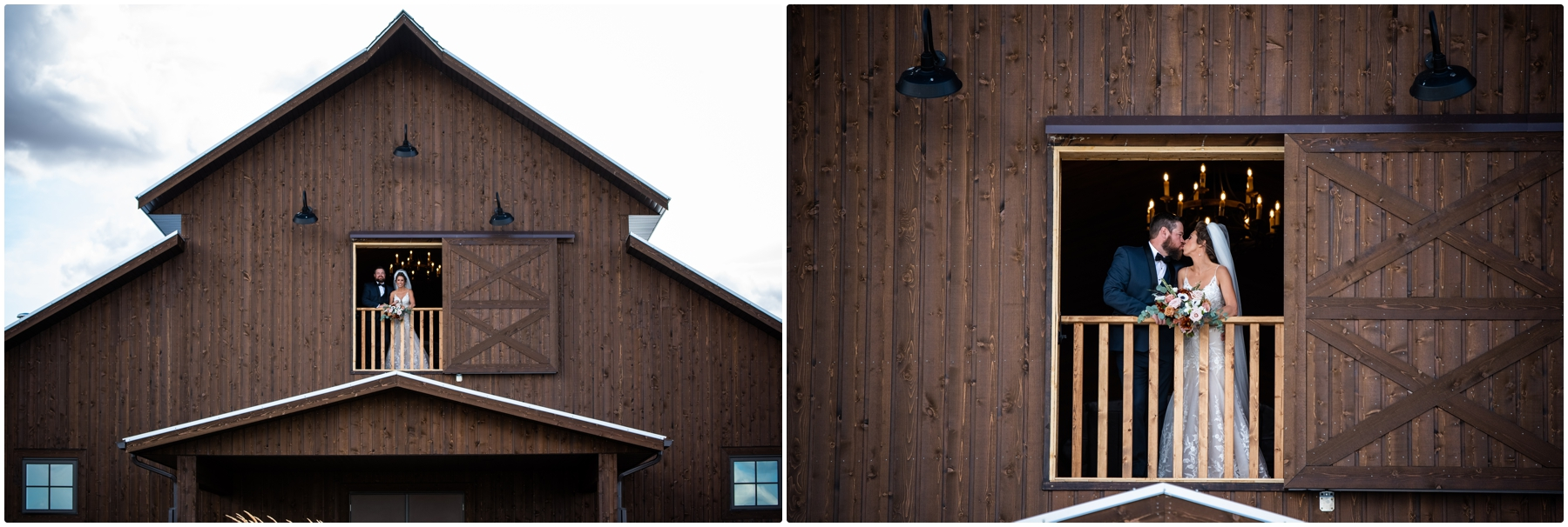 Barn Bride & Groom Photography - Sweet Haven Barn