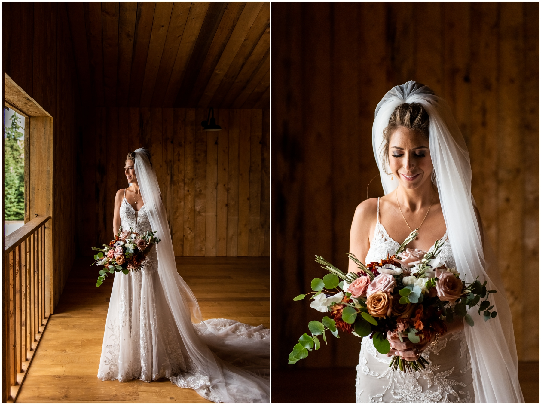 Bridal Photos - Sweet Haven Barn