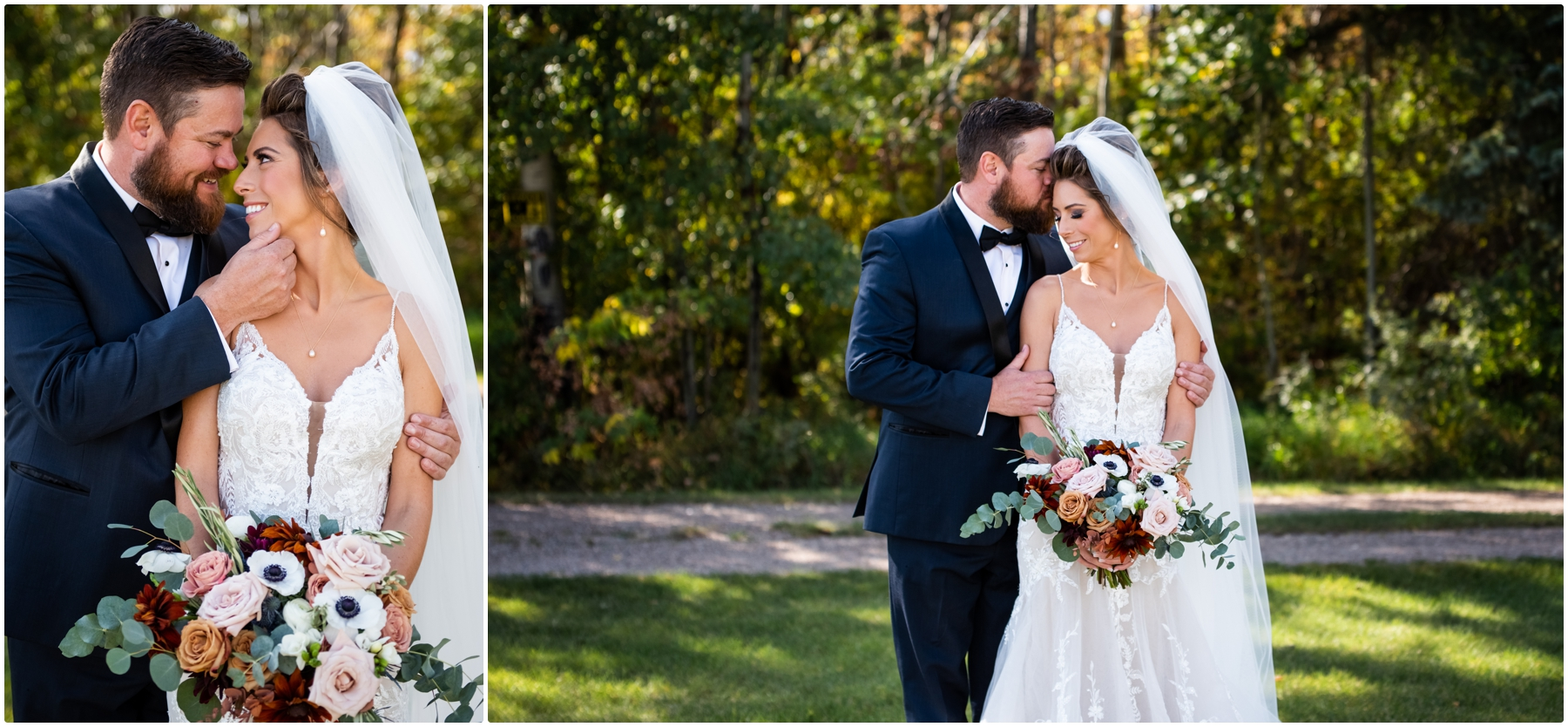 Bride & Groom Portraits - Sweet Haven Barn