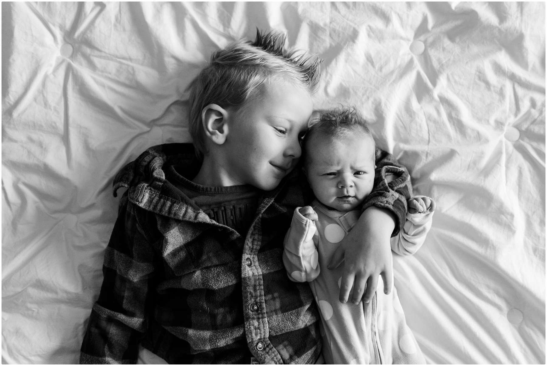 Calgary Family At Home Newborn Photography