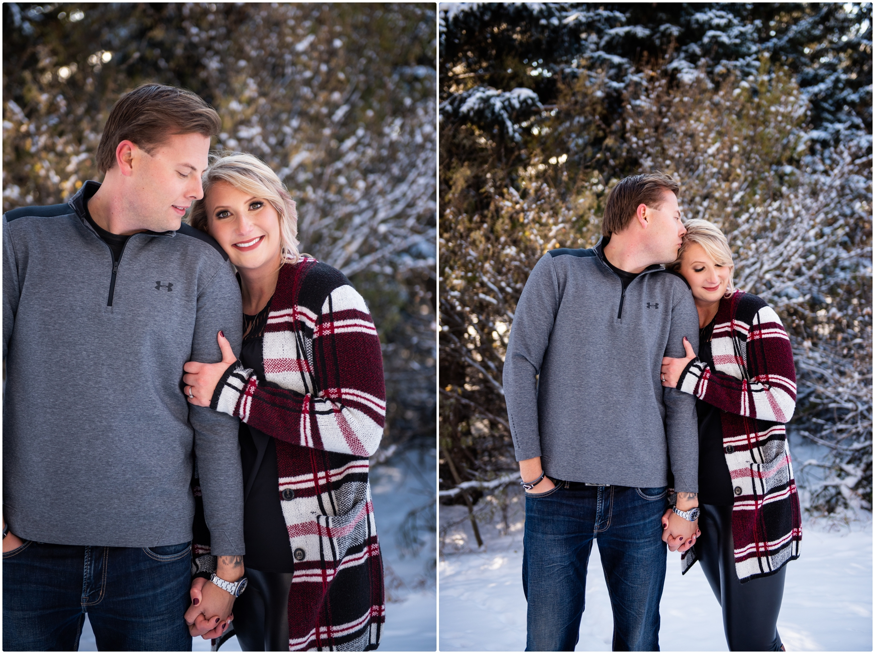 Calgary Pregnancy Announcement Photo Session- Calgary Maternity Photographer