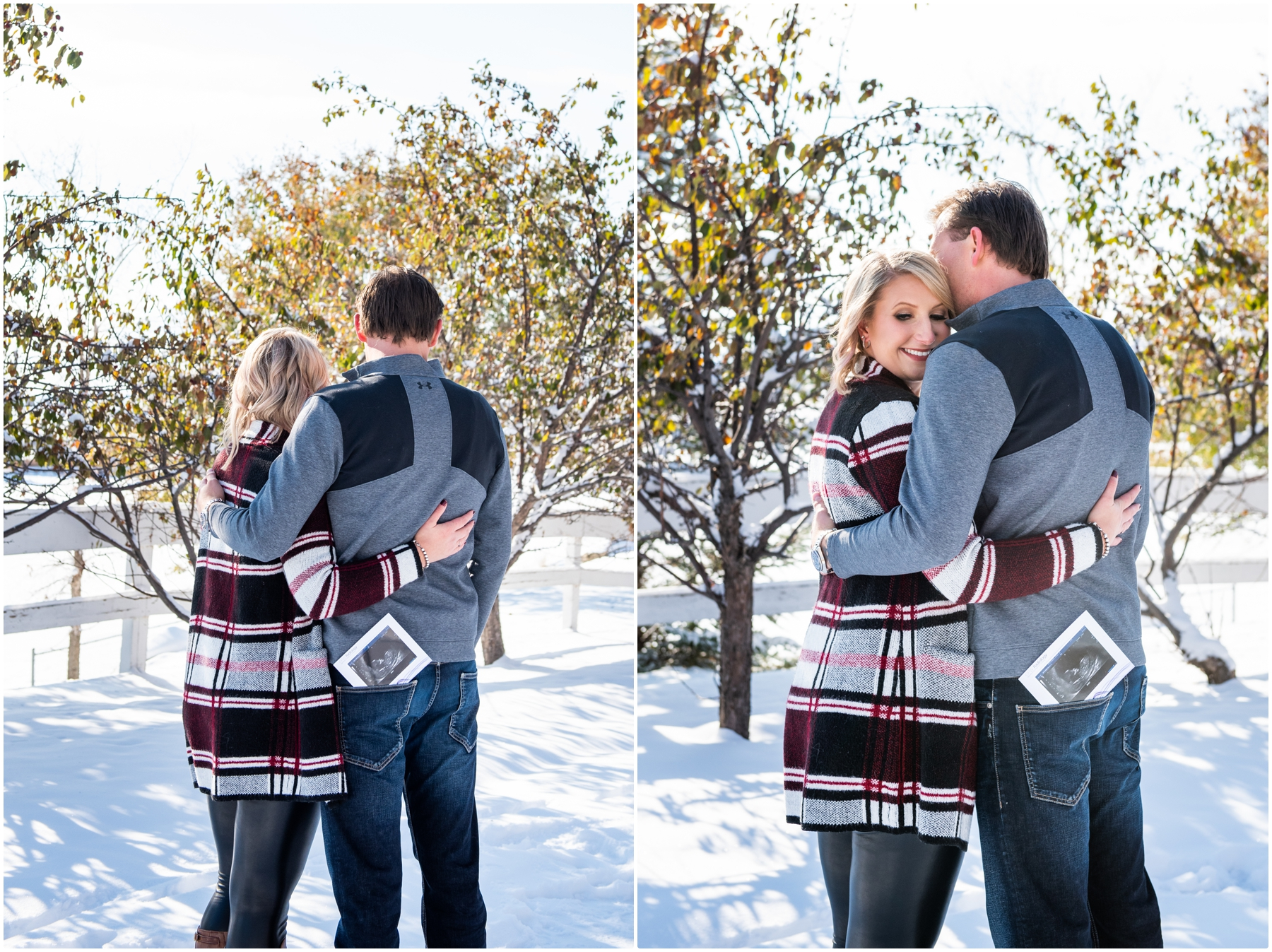 Calgary Pregnancy Announcement Photographer