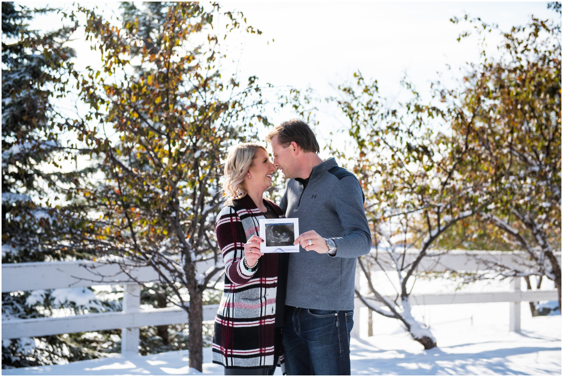 Calgary Pregnancy Announcement Photographers