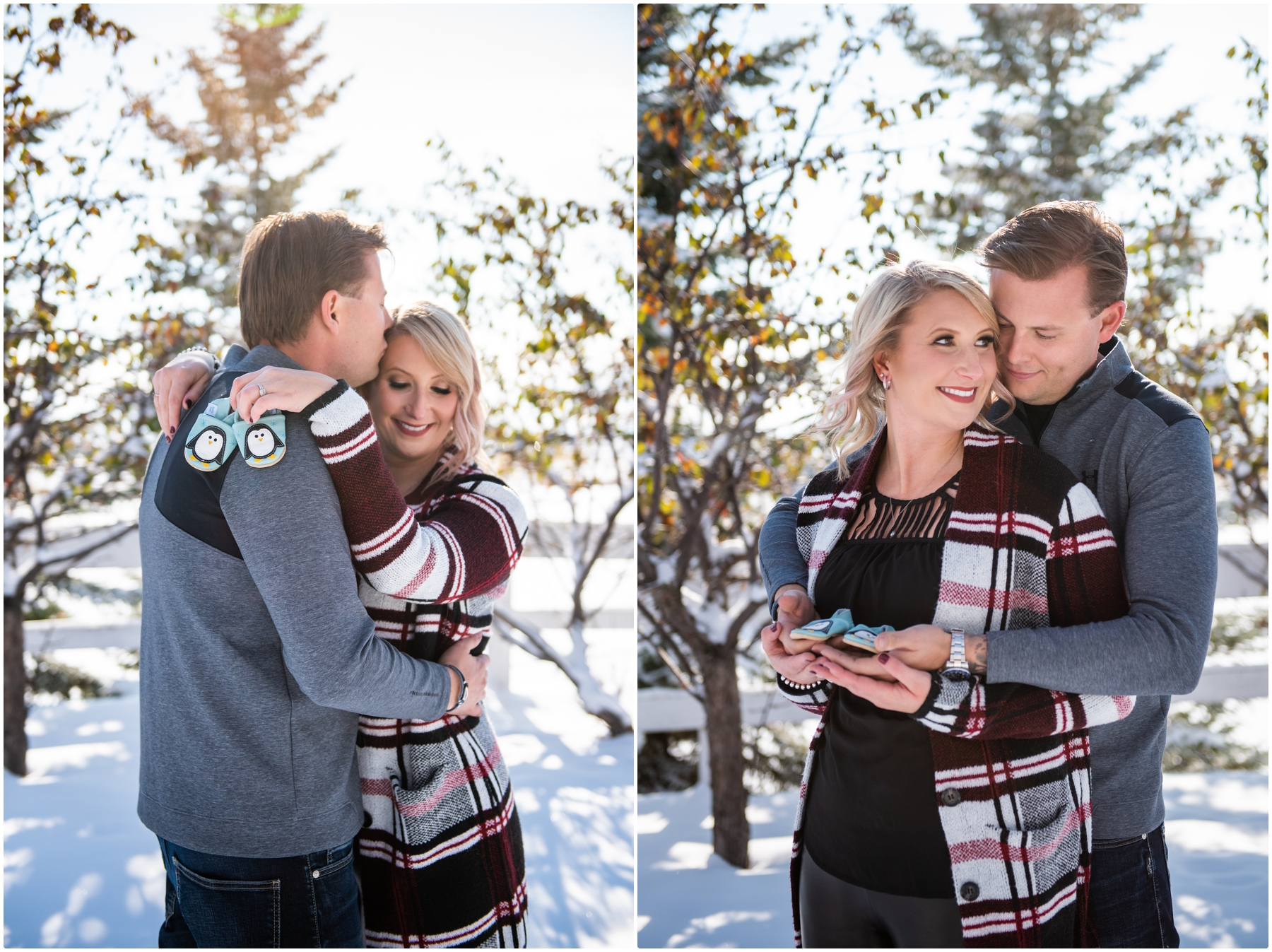 Calgary Pregnancy Announcement Photography