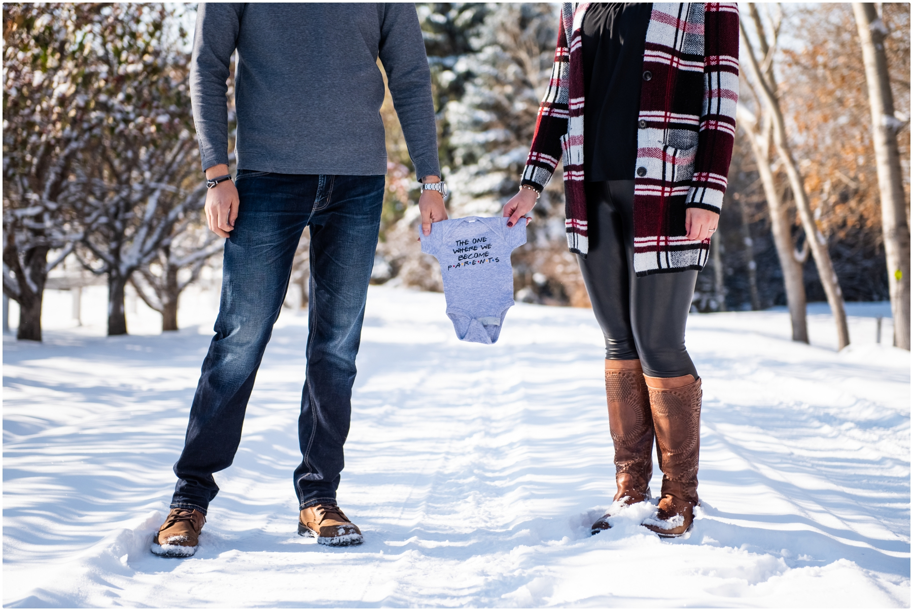 Calgary Pregnancy Announcement Photos