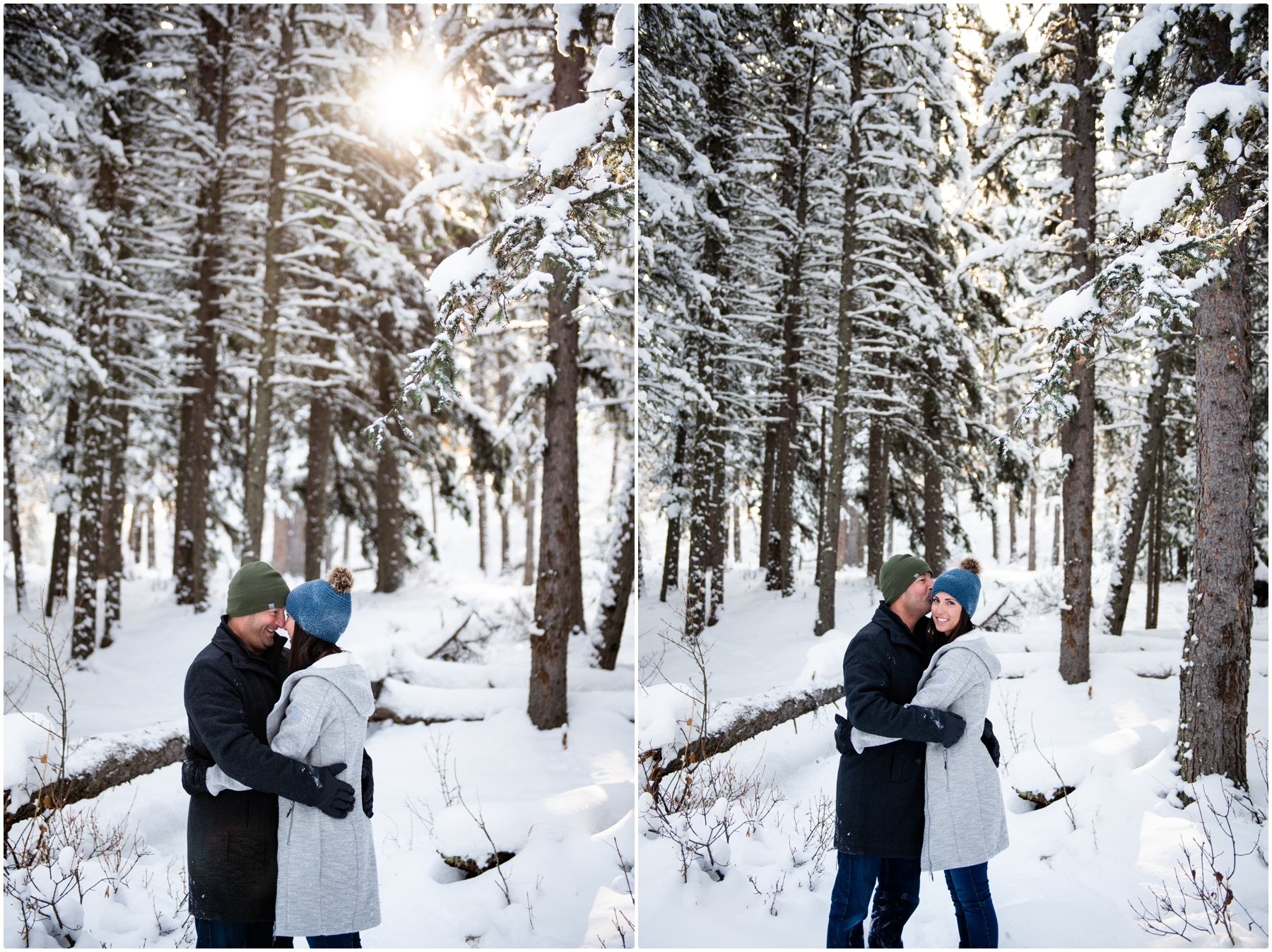 Calgary Winter Couple Photography Session
