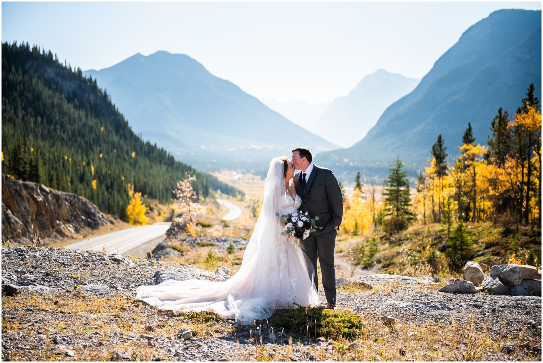 Canmore Wedding Photographer- Rocky Mountain Intimate Elopement Photographers