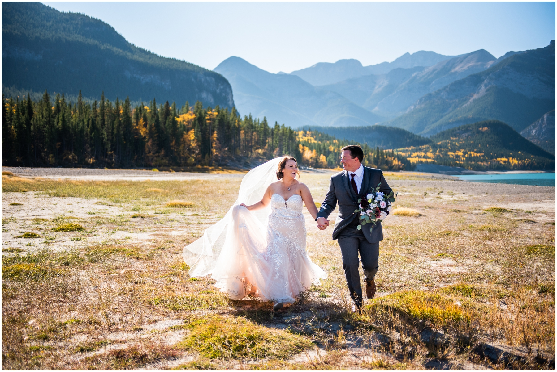 Canmore Wedding Photographer- Rocky Mountain Intimate Elopement Photos