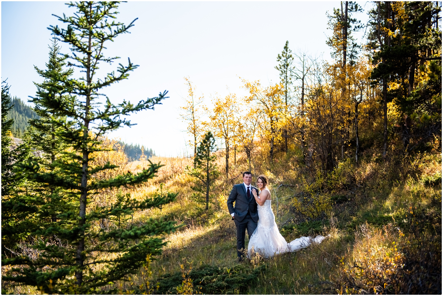 Canmore Wedding Photographers- Rocky Mountain Intimate Elopement Photographer