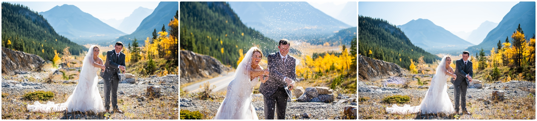 Canmore Wedding Photographers- Rocky Mountain Intimate Elopement Photography