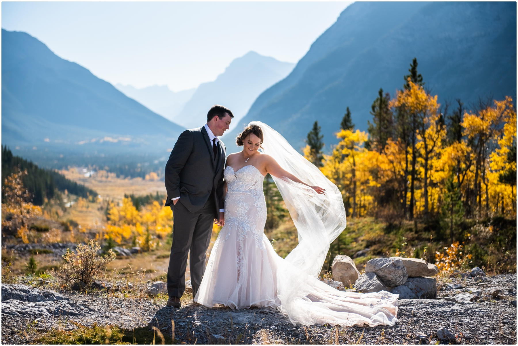 Canmore Wedding Photographers- Rocky Mountain Intimate Elopement Photos