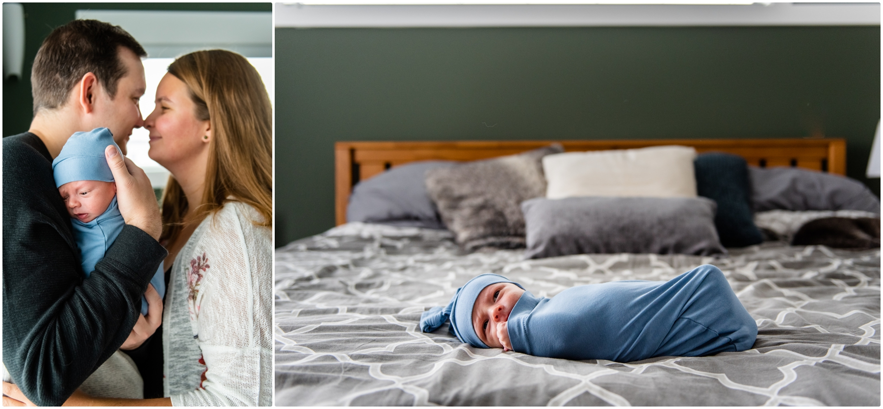 Chestermere In Home Newborn Photography
