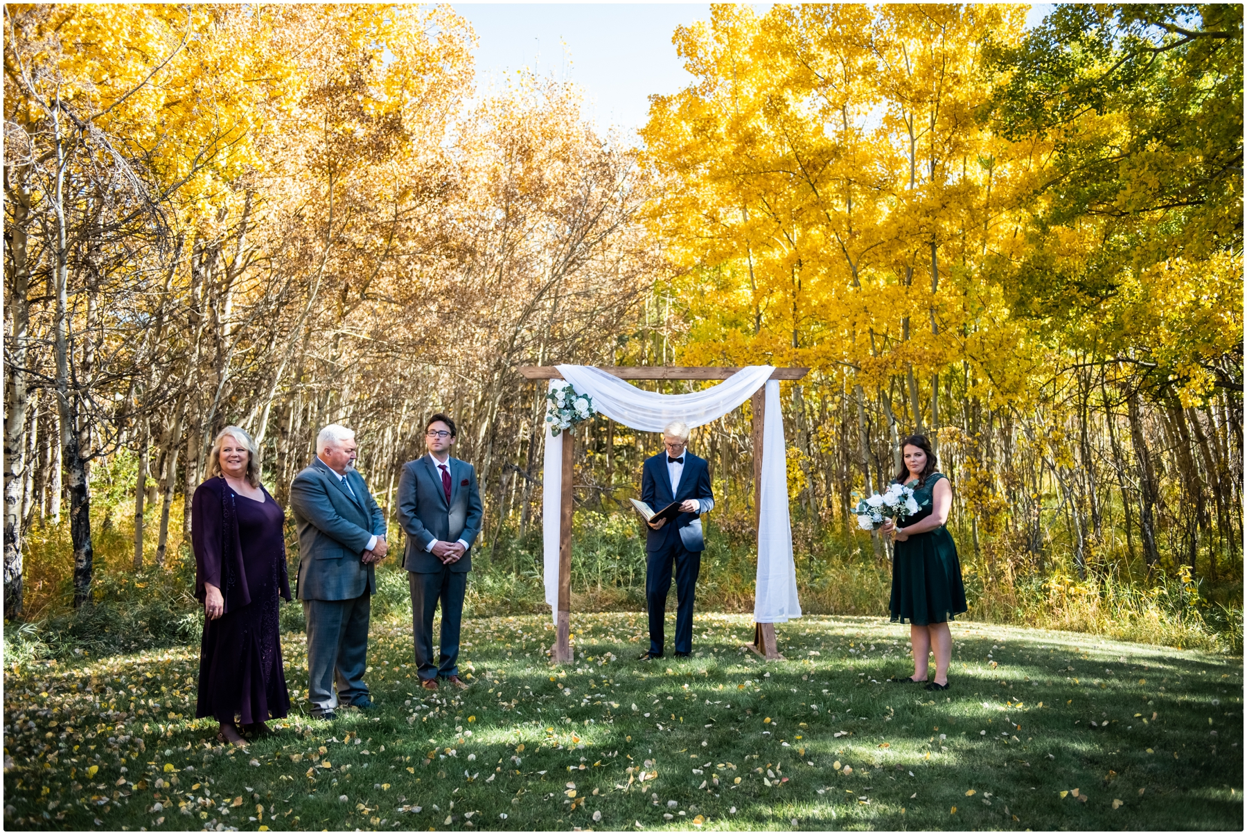 Cochrane Mansion Backyard Wedding Ceremony