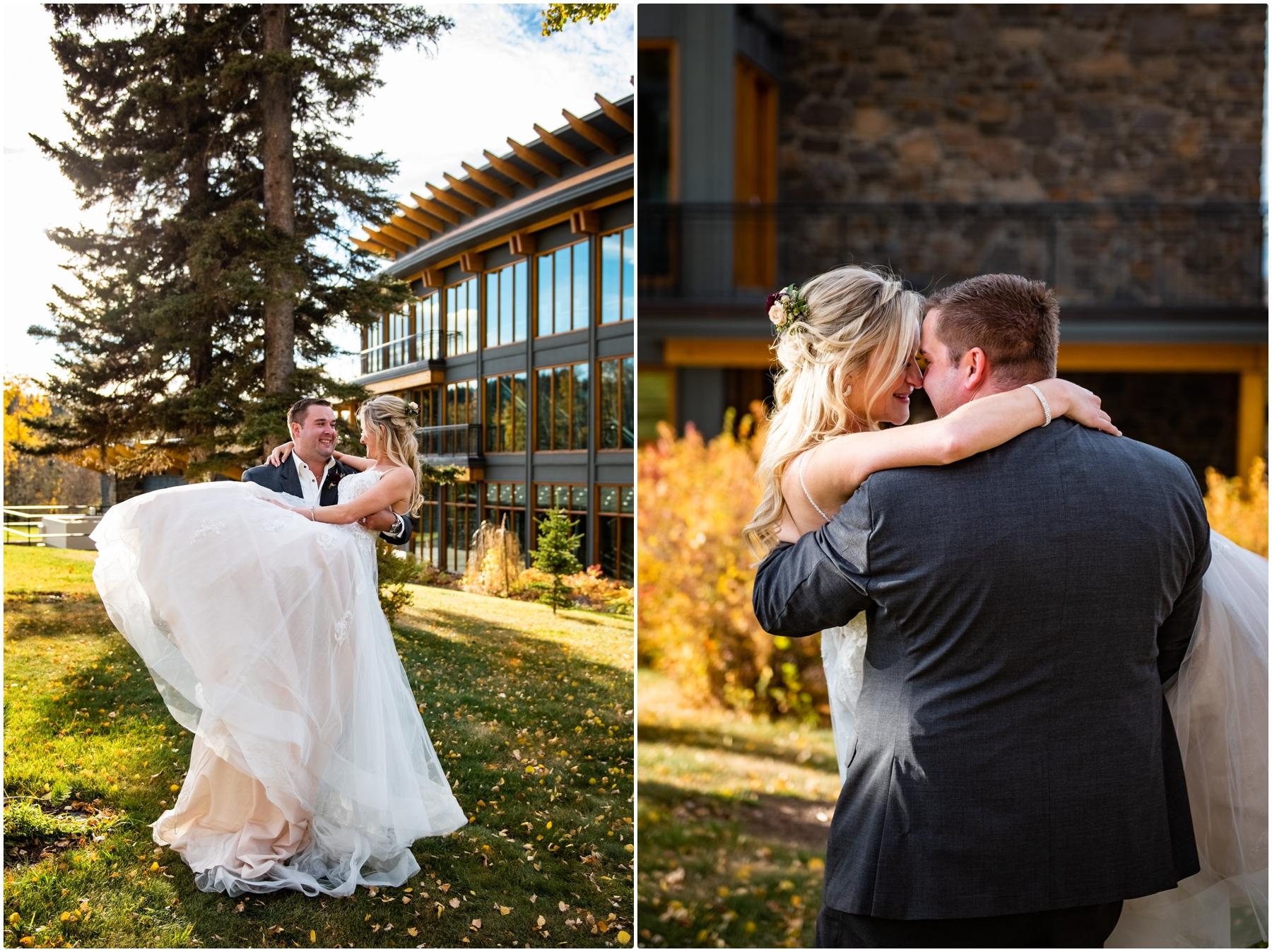 Fall Azuridge Wedding - Calgary Wedding Photography