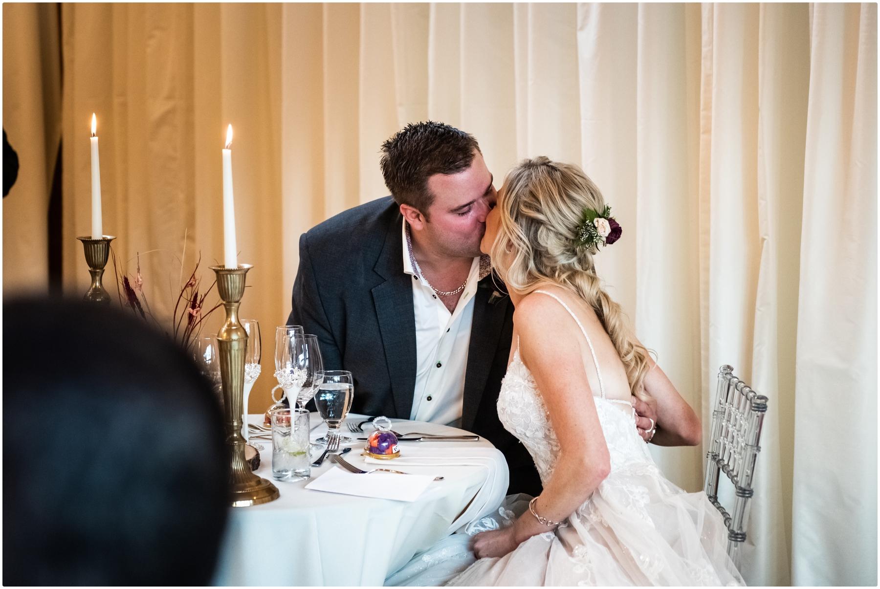 Fall Azuridge Wedding Reception Photographer- Calgary Wedding Photographer