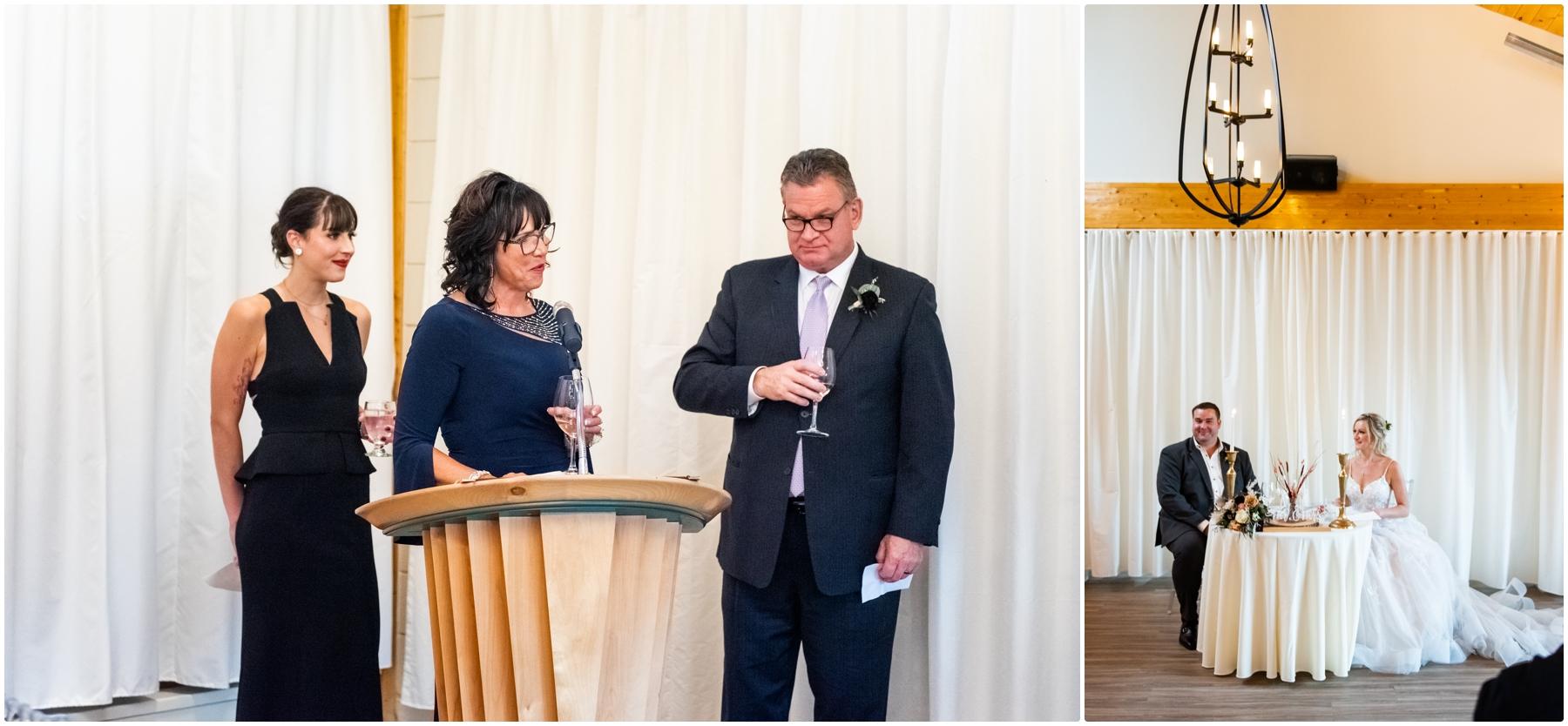Fall Azuridge Wedding Reception Photographers- Calgary Wedding Photographer