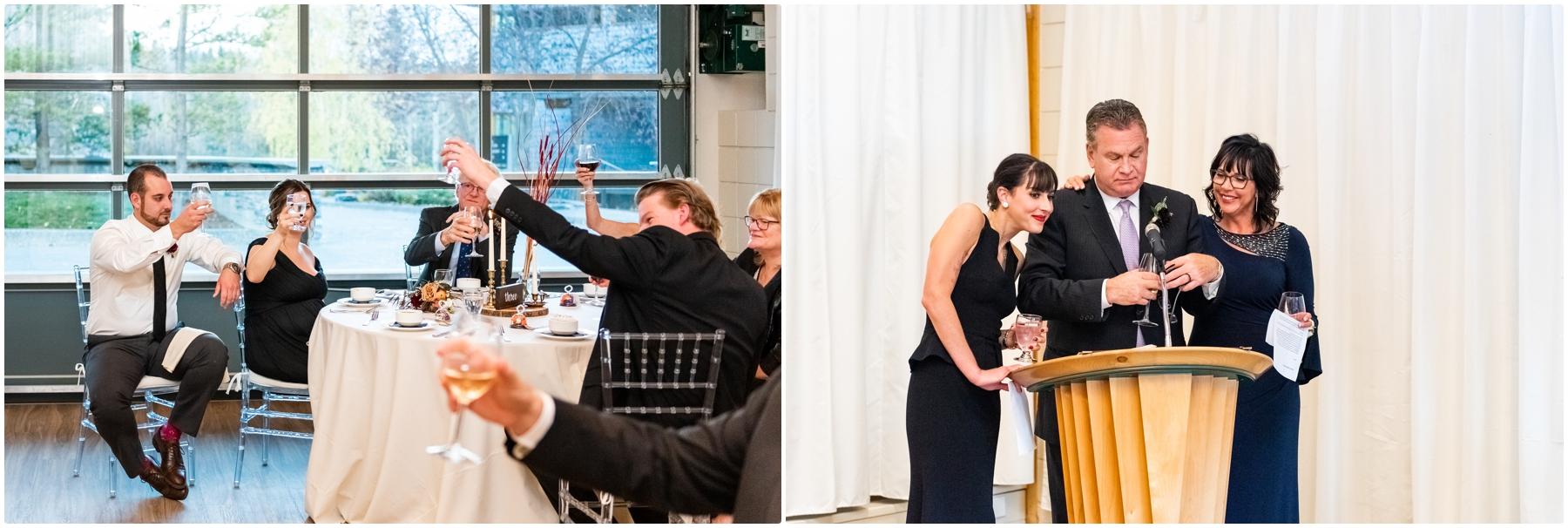 Fall Azuridge Wedding Reception Photography- Calgary Wedding Photographers