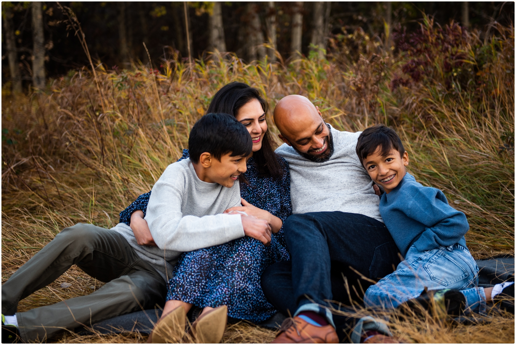 Fall Family Photographer- Calgary Edworthy Park