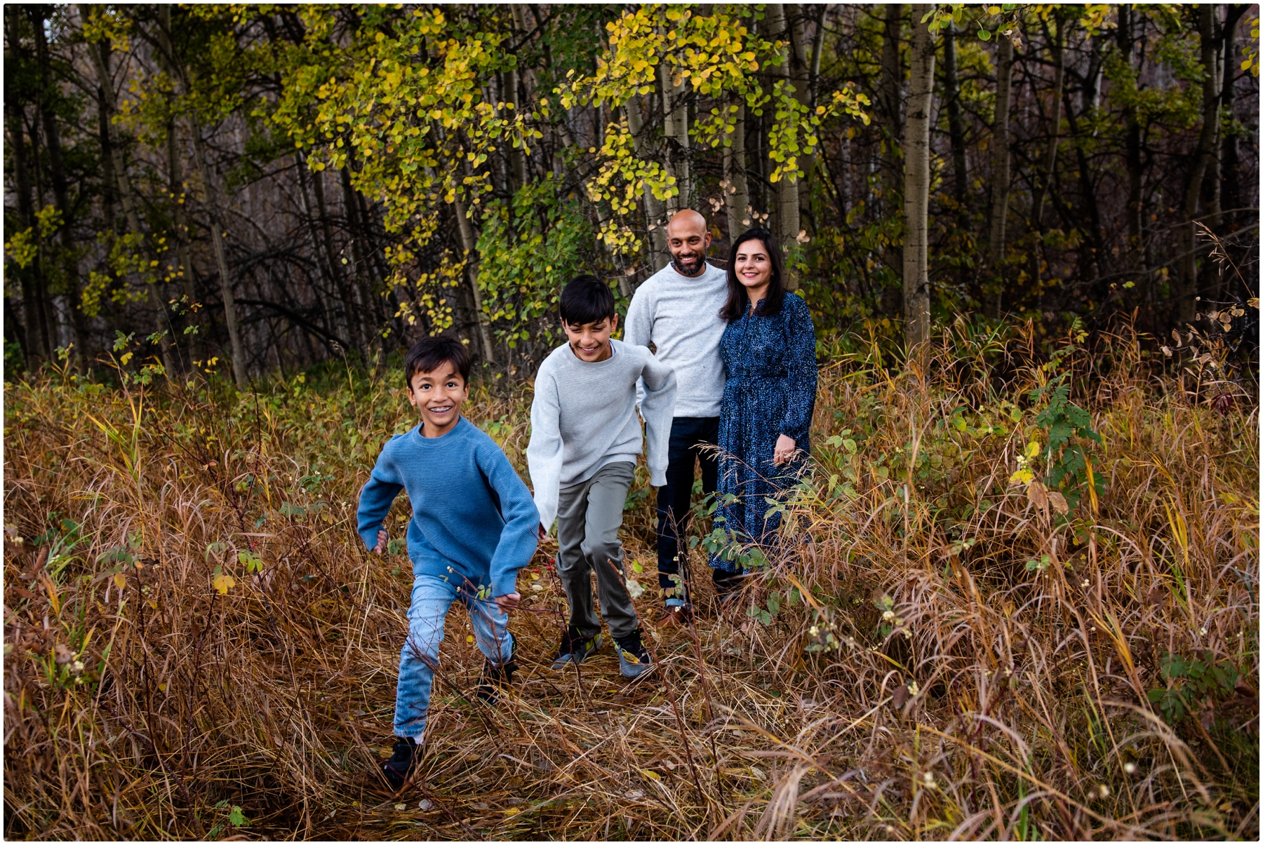 Fall Family Photographer- Edworthy Park Calgary