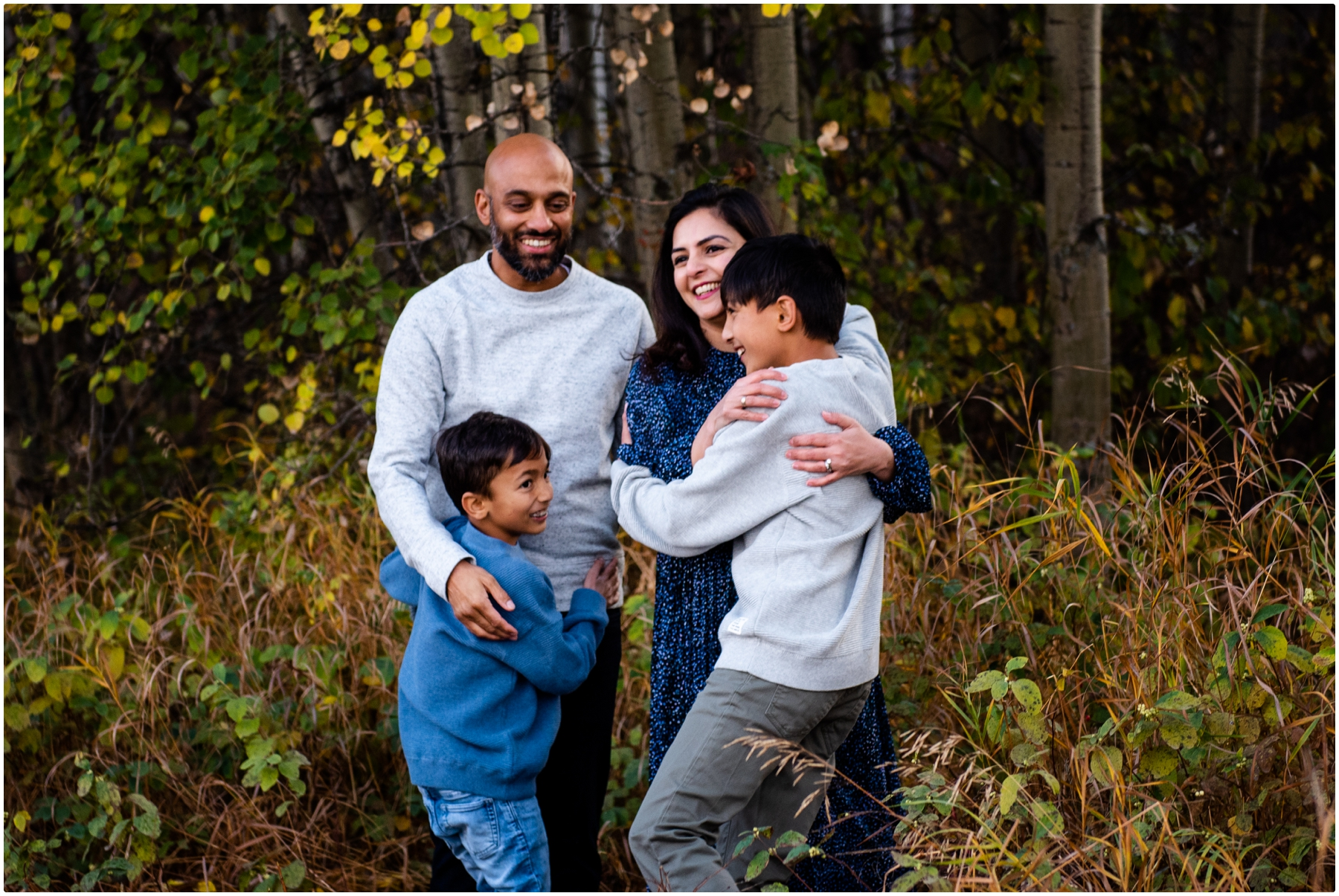 Fall Family Photographers- Edworthy Park Calgary