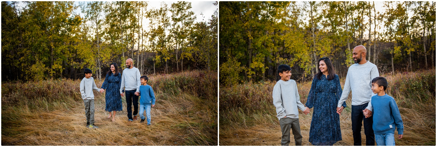 Fall Family Photos- Calgary Edworthy Park