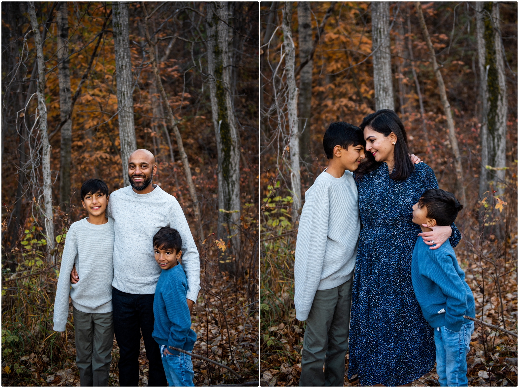 Fall Family Photos- Edworthy Park Calgary