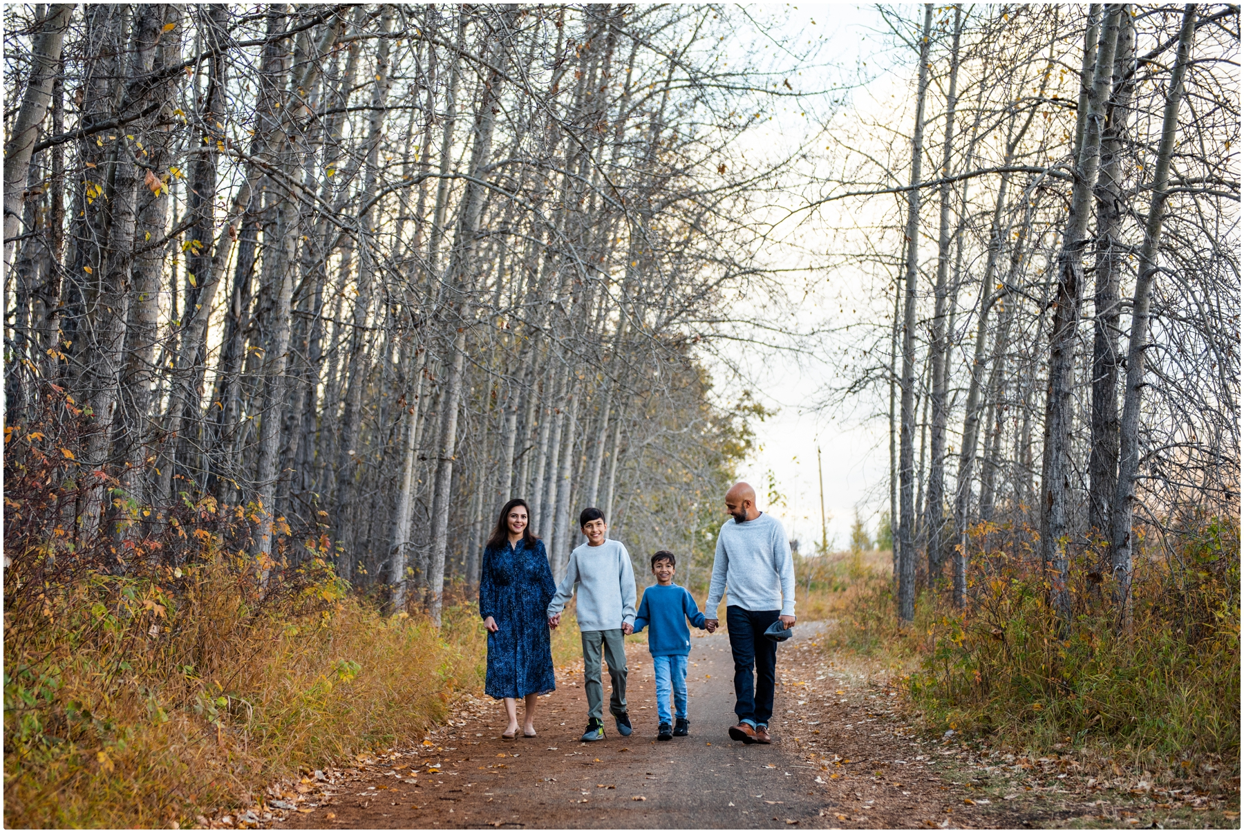 Fall Family Session- Edworthy Park Calgary