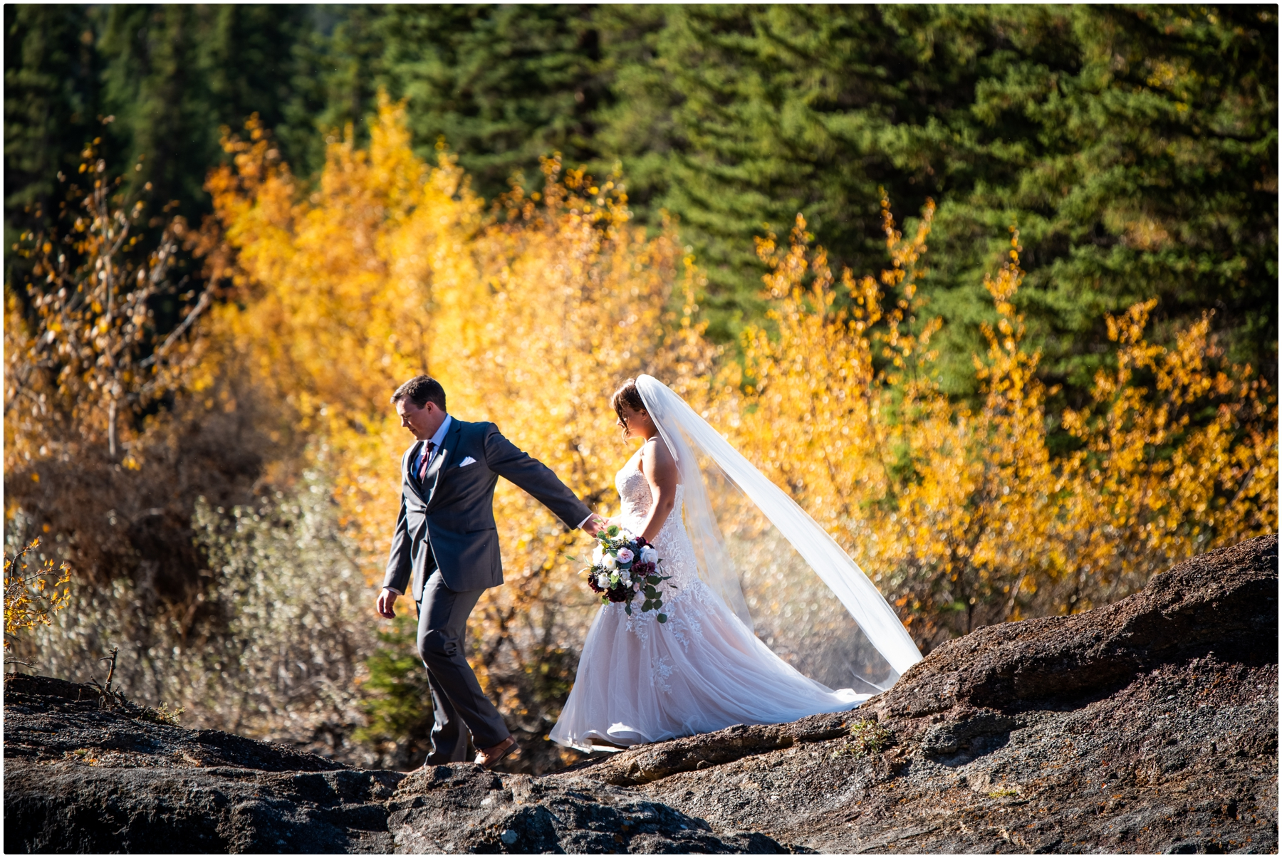 Kananaskis Intimate Elopement Photos