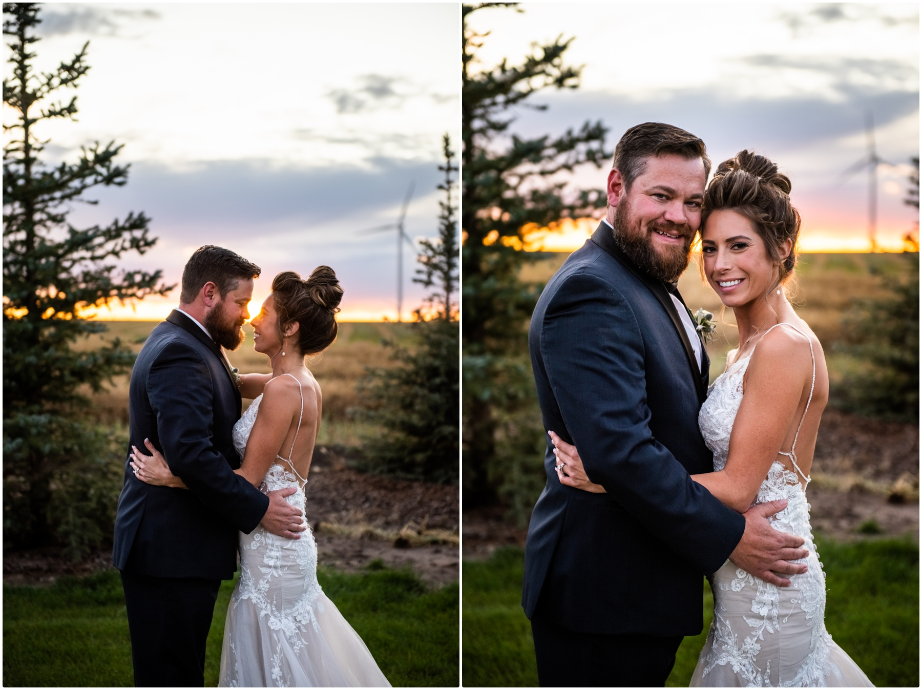 Sunset Barn Wedding Photography - Sweet Haven Barn