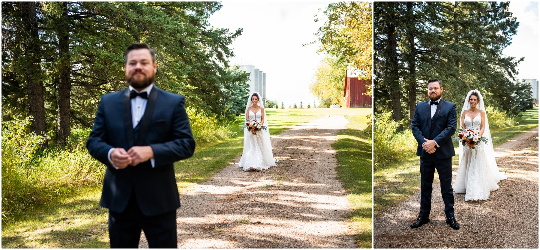 Sweet Haven Bar Wedding Photographers - Autumn Barn Wedding