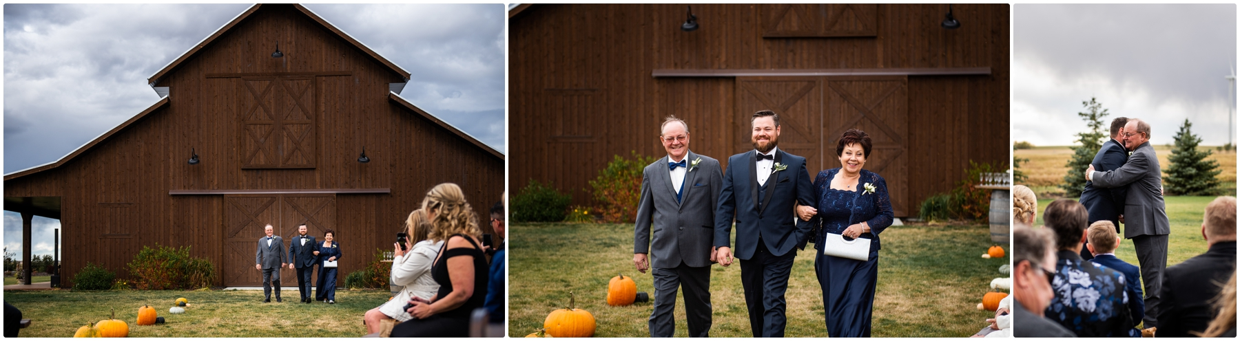 Sweet Haven Barn Wedding Ceremony Photographers