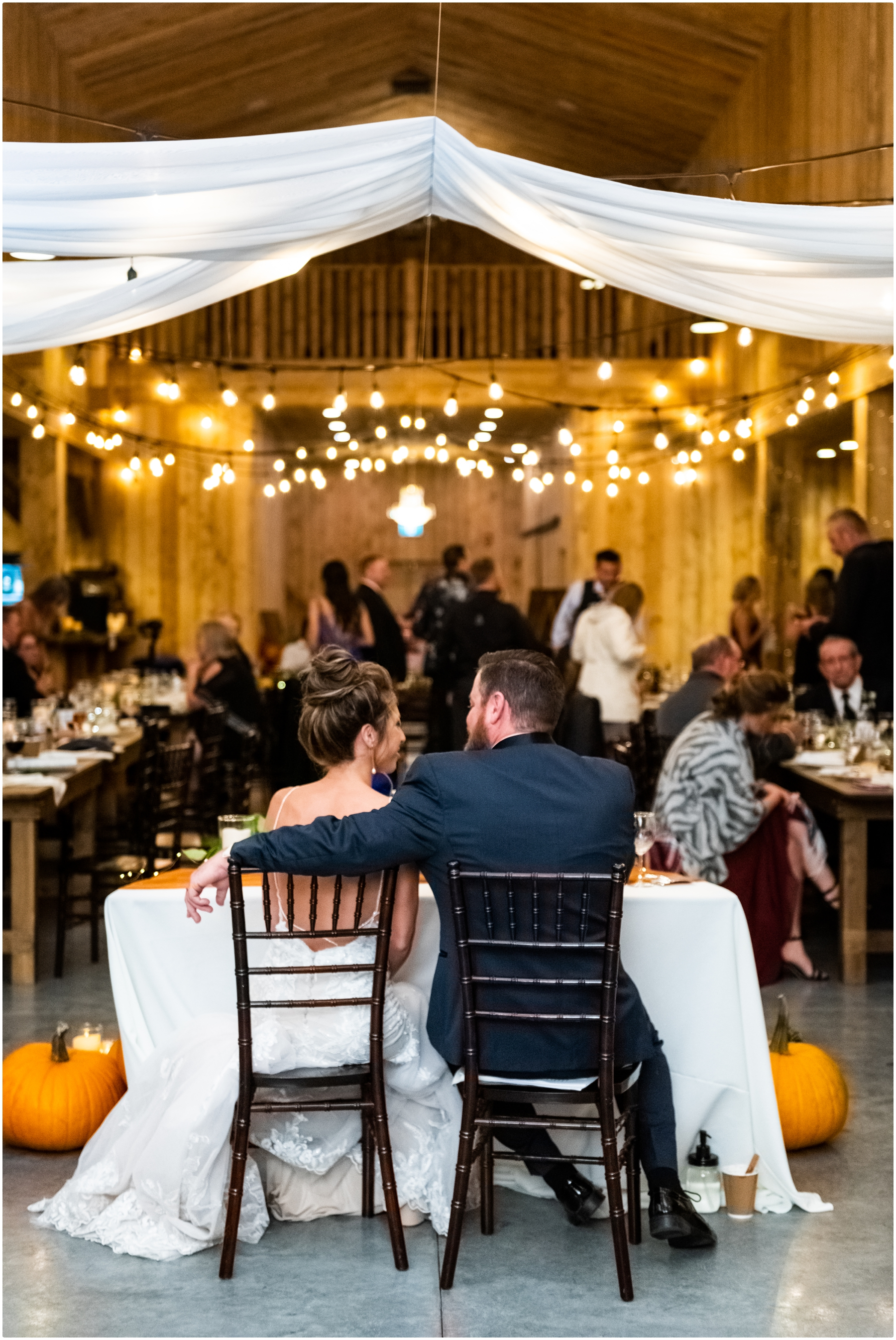 Sweet Haven Barn Wedding Reception