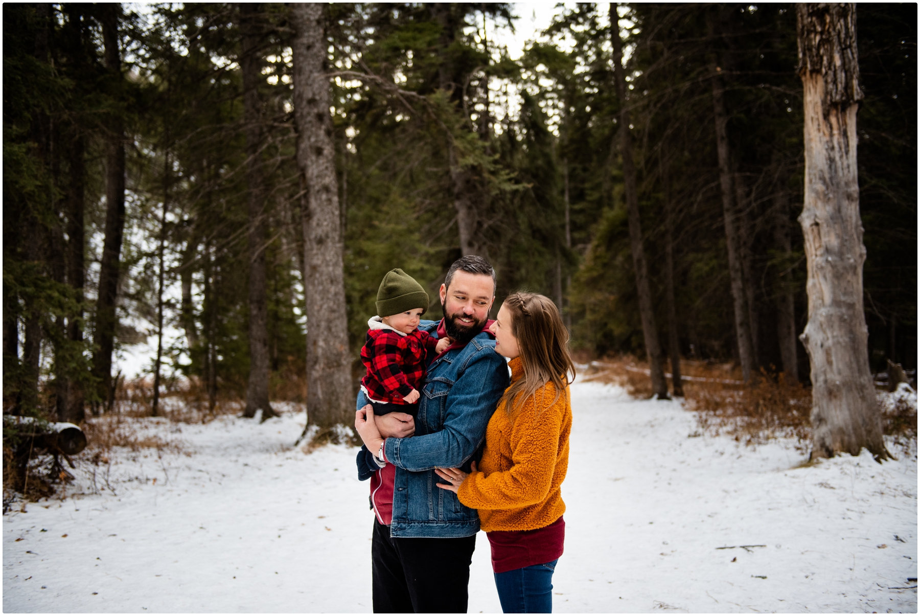 Calgary Winter Family Photographer