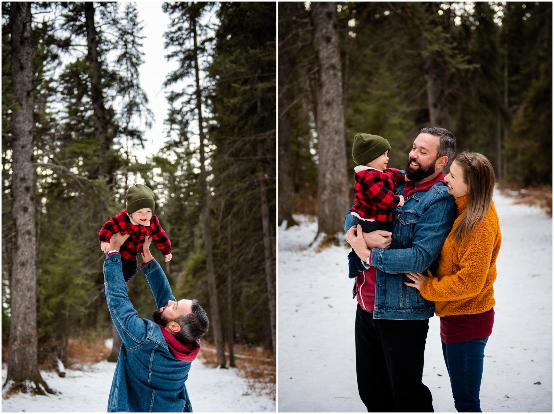 Christmas Family Photographer Calgary