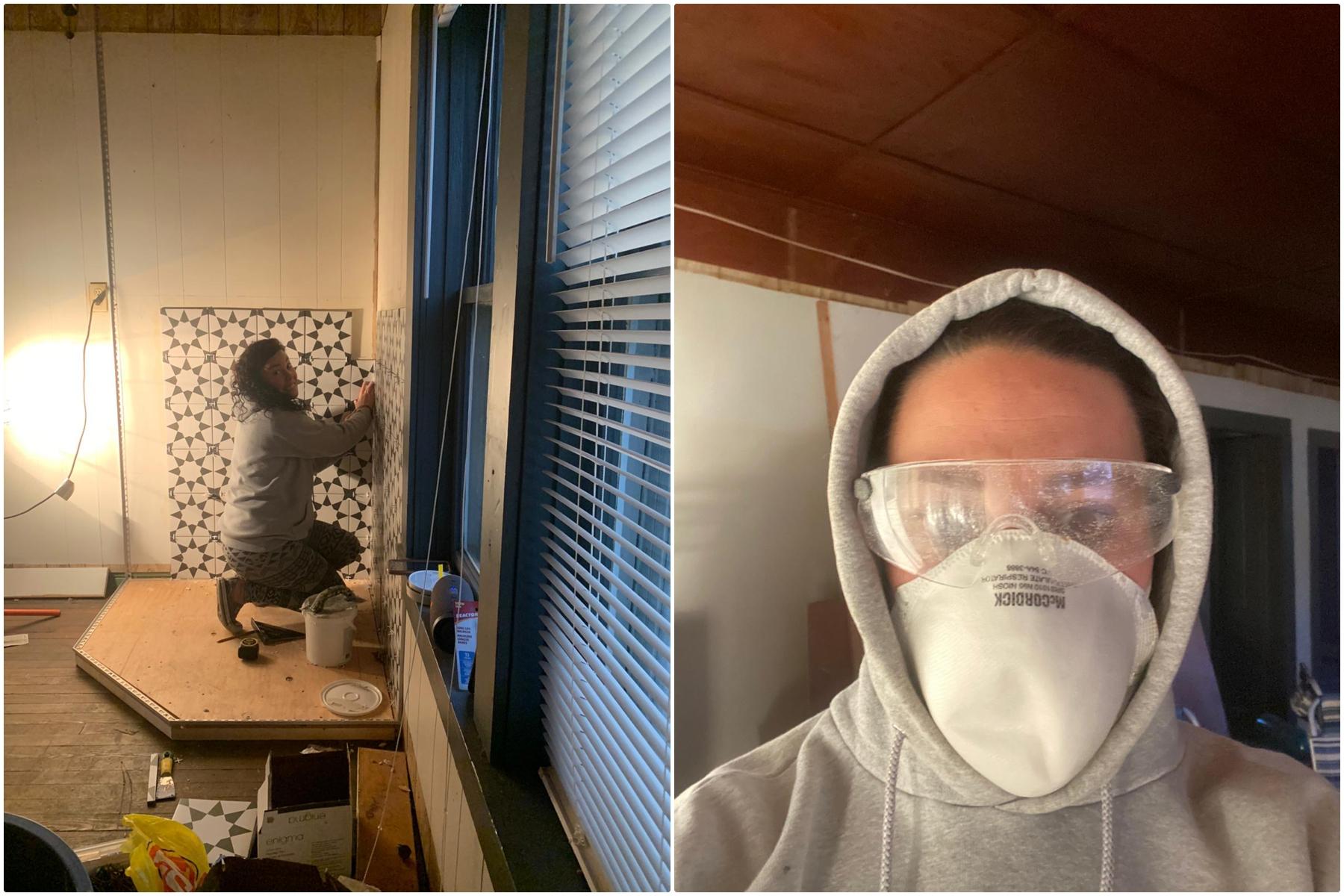 Nakusp Airbnb Renovation - 1900 Cottage Revovation Nakusp BC