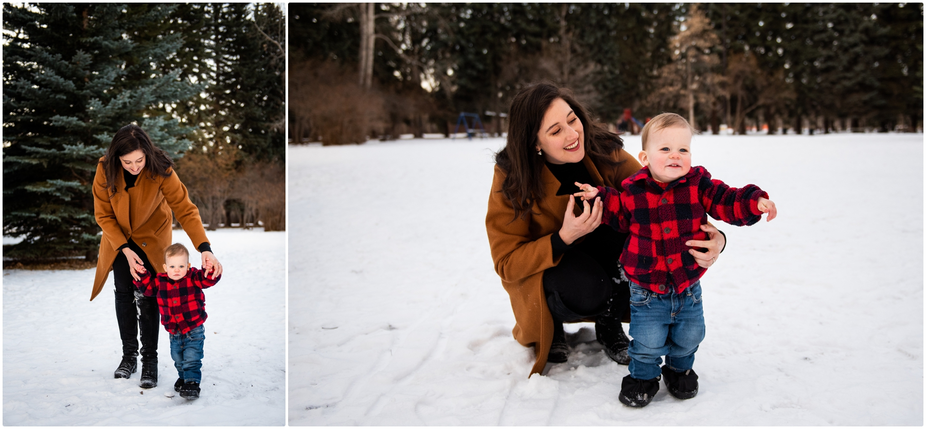 Winter Family Photographer Calgary