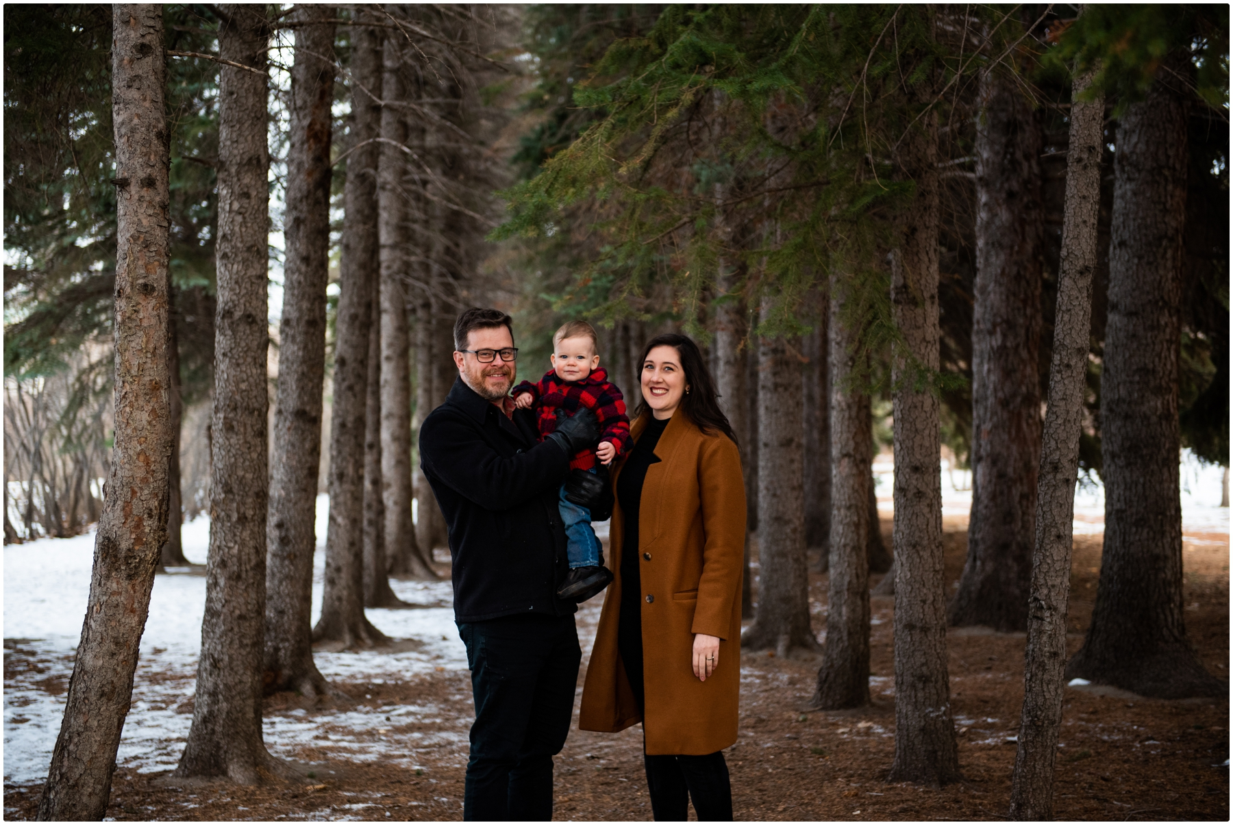 Winter Edworthy Park Family Photos