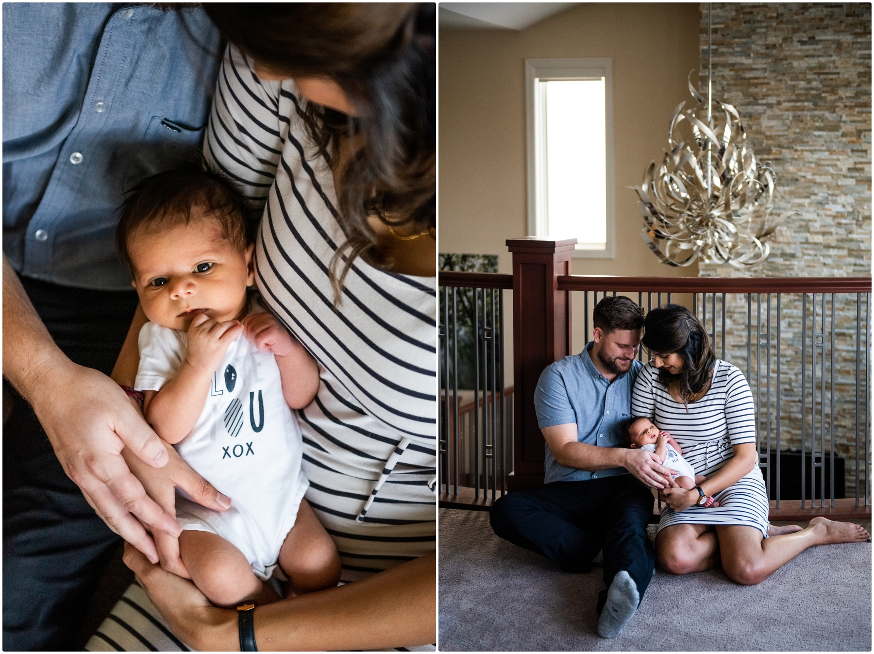 Calgary At Home Lifestyle Newborn Photographers
